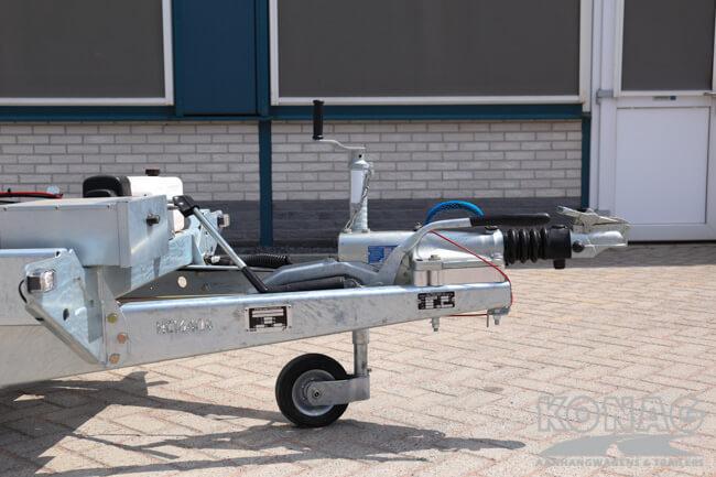 Ifor Williams TT3017 kiepaanhangwagen dissel