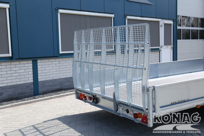 Ifor Williams TB5521-353 New tiltbed met oprijklep