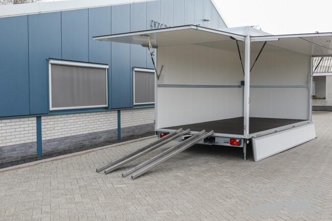 Konag bloemenaanhangwagen 500x240x230